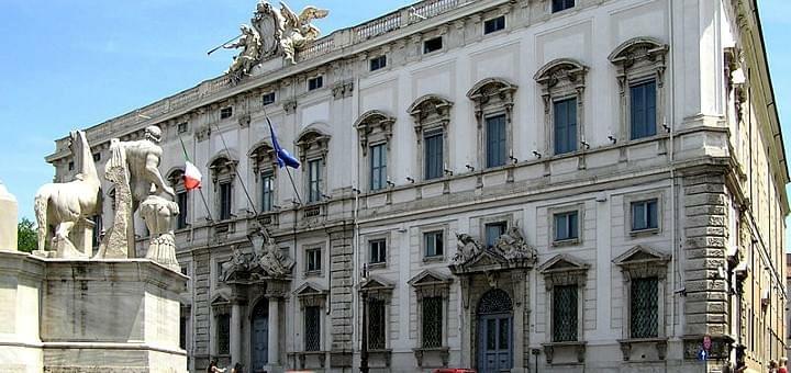 The Constitutional Court of Italy in Palazzo della Consulta (Photo: Wikimedia Commons)
