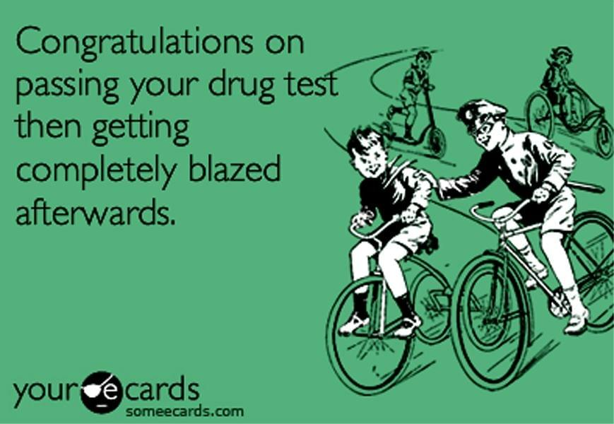 Passing Your Drug Test Like a Champion